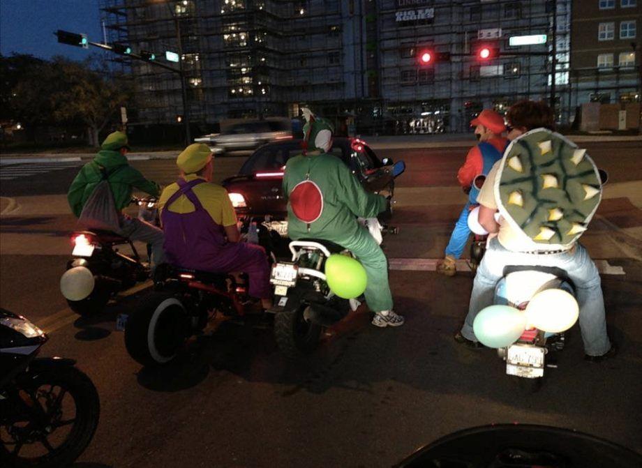 Mario Kart - En la línea de salida