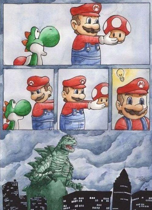 La terrible idea de Mario