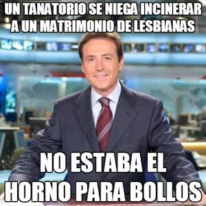 Matías Prats: Un tanatorio se niega a incinerar a un matrimonio de lesbianas