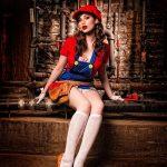 Cosplay – Versión femenina de Super Mario