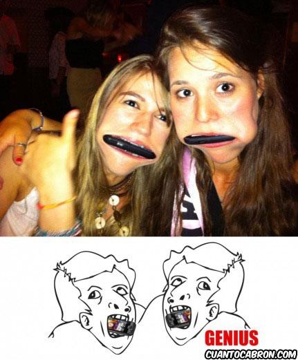 memes chicas moviles en boca genius