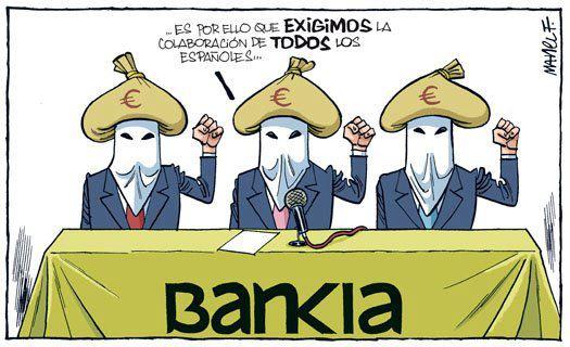 Mensaje de Bankia