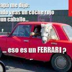 ¿Eso es un Ferrari?