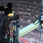 Micky Mouse Darth Vader