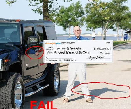 Millonario fail