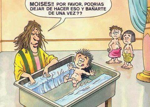 Moisés de niño