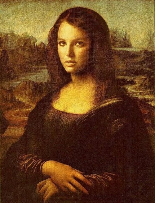 La mona Britney Spears Lisa
