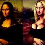 Mona Lisa – Antes y después de pasar por el quirófano