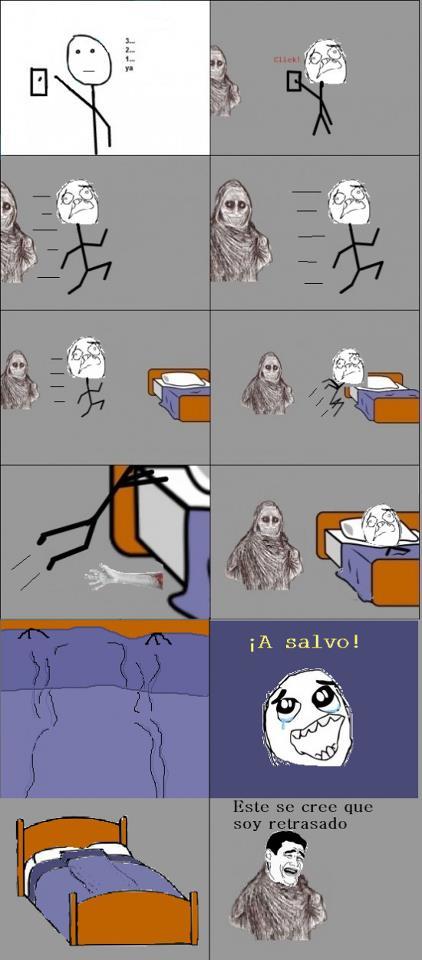 El monstruo de la habitación
