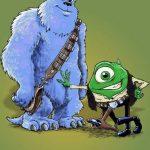Monstruos S.A. – Han Solo y Chewbacca