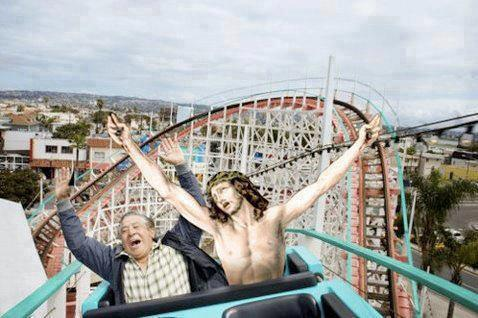 Cristo en montaña rusa