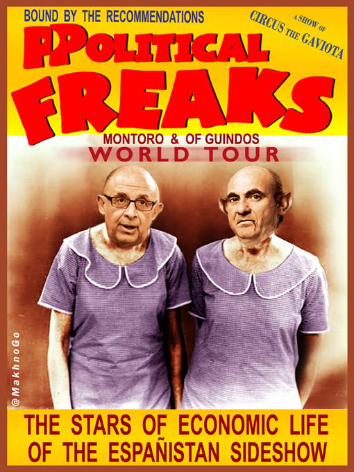 Montoro y De Guindos - Ppolitical Freak World Tour