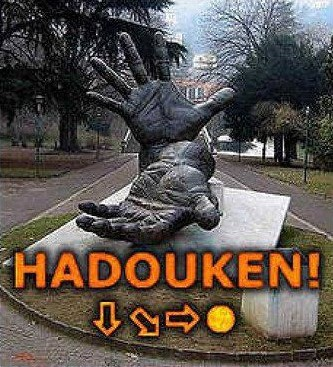 Monumento a Street Fighter