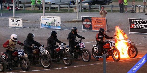 motos carrera - ghost rider