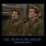 Mr. Bean y Dr. House – Momento épico
