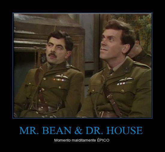 Mr. Bean y Dr. House - Momento épico