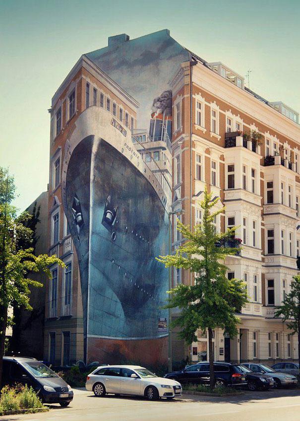 Mural - Barco
