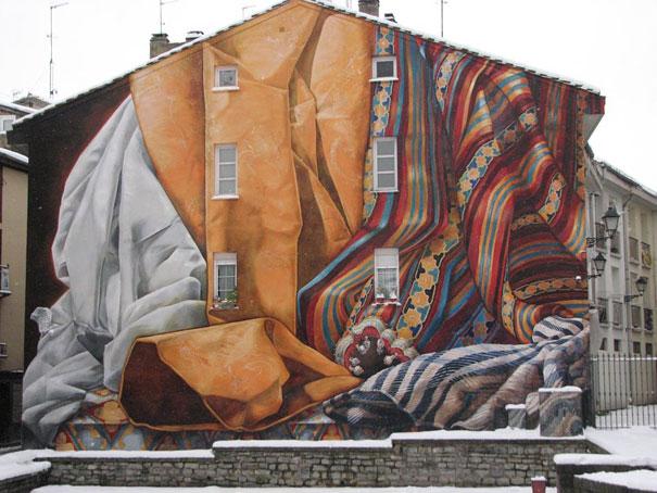Mural - Cortinas