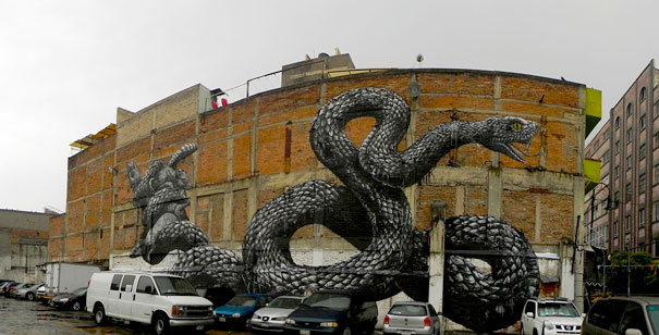 Mural - Serpiente (México DC)
