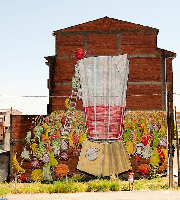 Mural - Licuadora