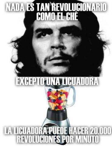 Nada es tan revolucionario como el Che excepto...