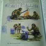 Neandertallica (Cuando te aburres en clase)