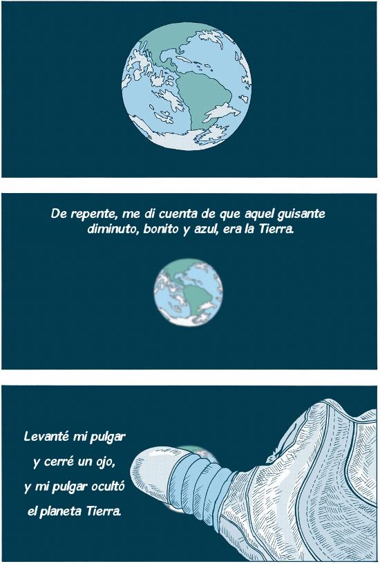 Neil Armstrong cuando llegó a la Luna