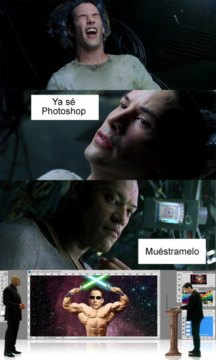 Neo - Ya sé Photoshop