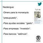 Términos económicos en neolengua