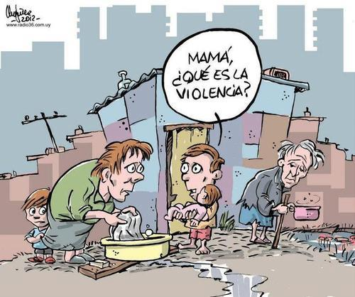 Mamá, ¿qué es la violencia?