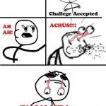 El reto de estornudar con los ojos abiertos