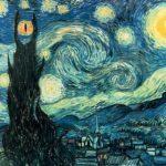 Noche estrellada de Van Gogh – Mordor style