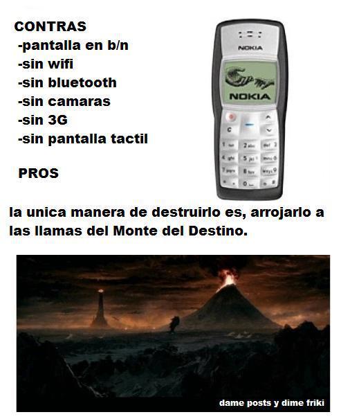 Pros y contras del Nokia 1100