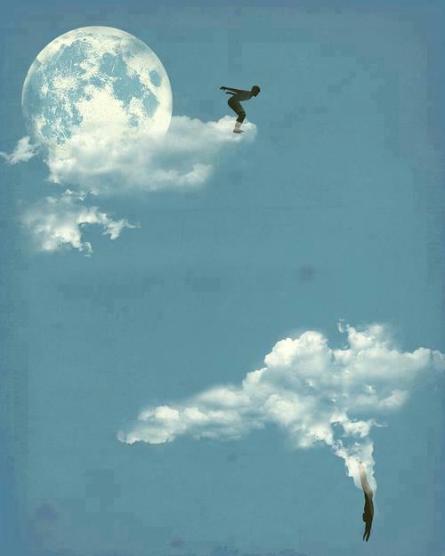 Salto en las nubes