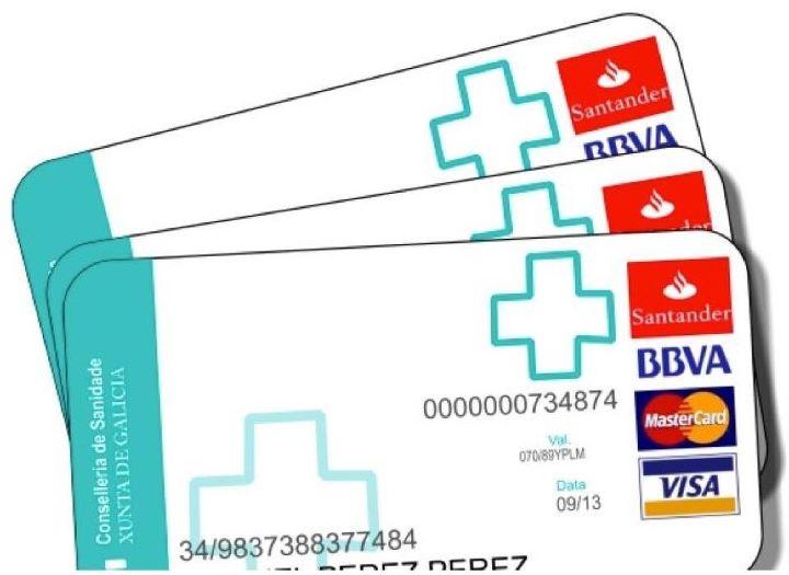 Nueva tarjeta sanitaria en Galicia