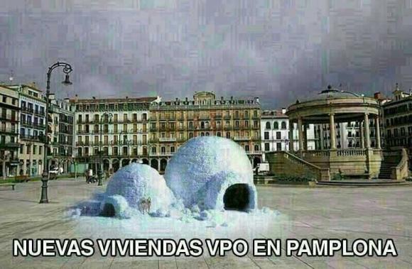 Nuevas viviendas vpo en Pamplona