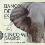 Nuevo billete de 5.000 pesetas