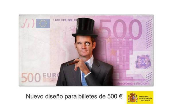 Nuevos billetes de 500 €