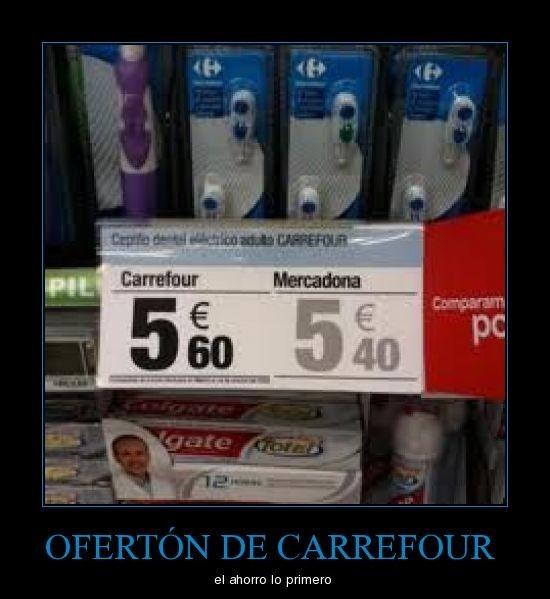 Ofertón de Carrefour
