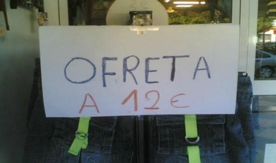 ofreta a 12 euros
