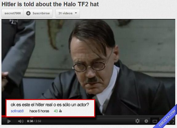 ¿Hitler real o actor?