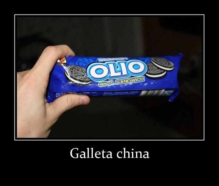 oreo gallega china olio