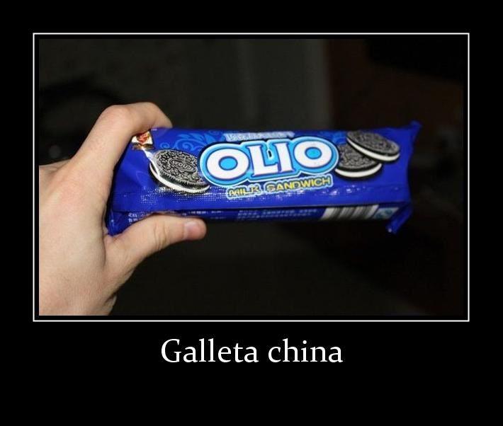 Así son las galletas Oreo en China