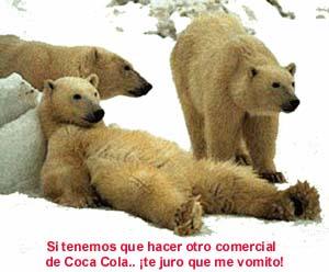osos polares - si tenemos que hacer otro comercial de coca cola t e juro que vomito