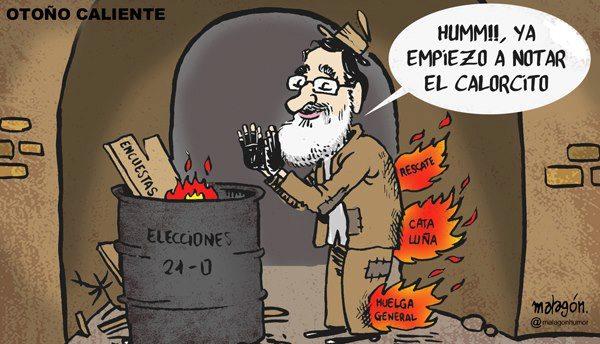 Llega el otoño caliente a España