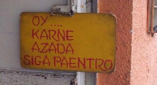 Oy Karne Azada - Siga paentro