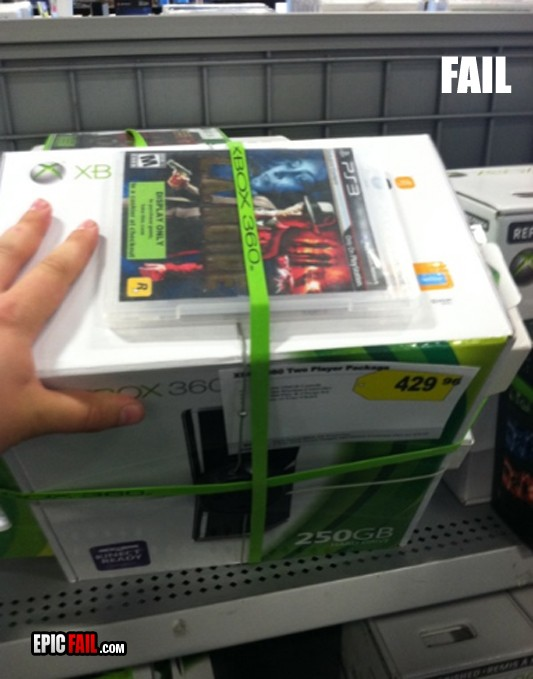 pack fail xbox 360 con juego de ps3