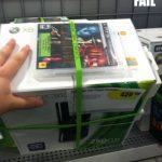Pack fail: Xbox 360 con juego PS3