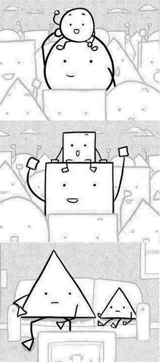 La soledad del triángulo