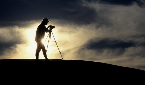 Paisaje y fotógrafo